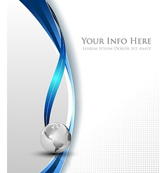 Simple elegant abstract background vector image
