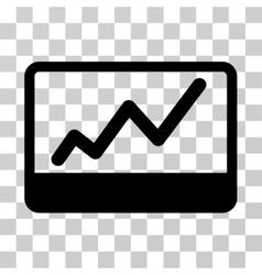 Stock market icon vector