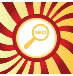 Seo search abstract icon vector