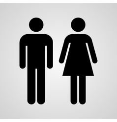Stock Linear icon male and female vector image