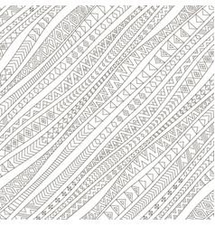 Tribal diagonal seamless pattern vector