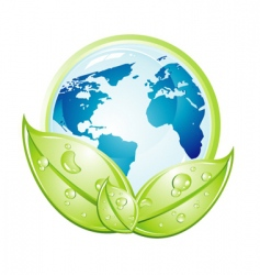 environment earth vector image