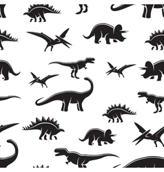 Dinosaur seamless pattern vector