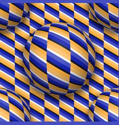 balls moving upwards abstract repeatable pattern vector image