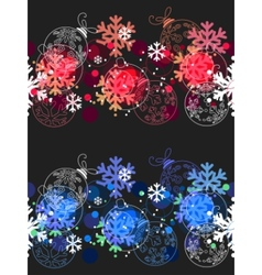 beautiful seamless christmas pattern vector image vector image