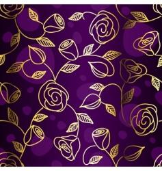 floral rose design vector image