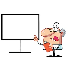 Presentation cartoon vector