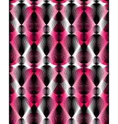 Continuous pattern with graphic lines decorative vector