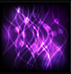 Background design with purple light vector