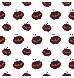 Happy Halloween Background Seamless pattern vector image vector image