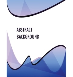 sea abstract background vector image