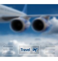 travel vector image