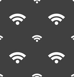 Wifi sign wi-fi symbol wireless network icon wifi vector