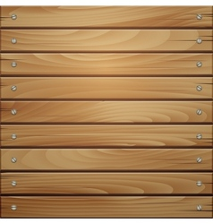 Wood plank brown texture background vector image vector image