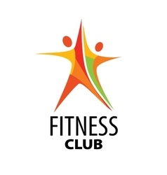 Logo for fitness vector