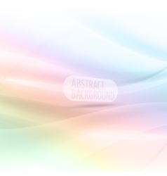 Abstract background colorful waves and lines eps10 vector image