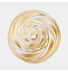 Ornamental circle borders vector