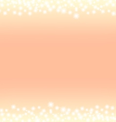 Romantic abstrack sparkling frame background vector