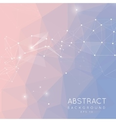 Abstract polygonal background low poly design vector
