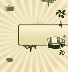 von bus vector image