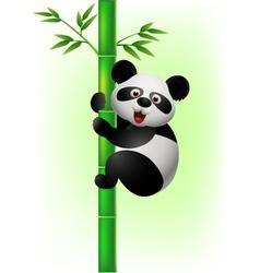 Panda Print vector image