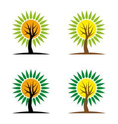 tree8 vector image vector image