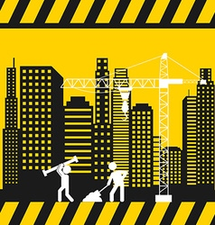 Construction concept vector