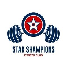 Star Champions Logo vector image vector image