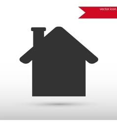 House icon house symbol flat design style vector