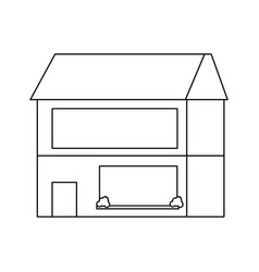uncolored vector image