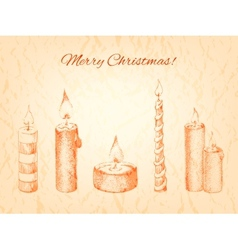 Christmas for your design vector image