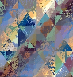 Dirty triangles pattern vector