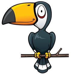 Hornbill vector image