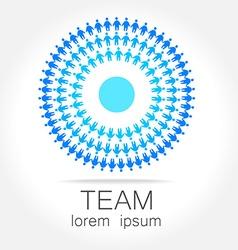 Team unity logo vector