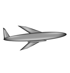 airplane sign icon vector image