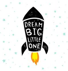 dream big stars vector image