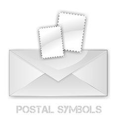 Postage Symbols vector image