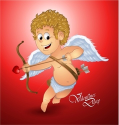 Valentines day cupid vector