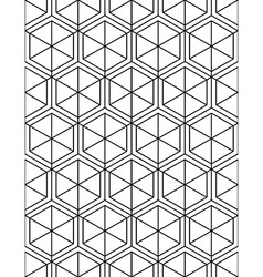 Monochrome abstract textured geometric seamless vector