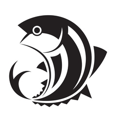 Graphic fish vector