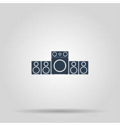 Speaker icon concept for vector