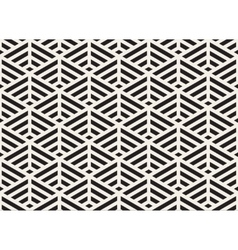 Black and white seamless triangle lines vector