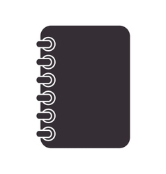 Notebook notes stationary vector