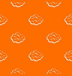 Summer cloud pattern seamless vector