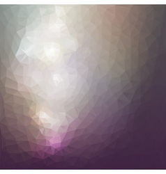 Abstract background triangle design vector image