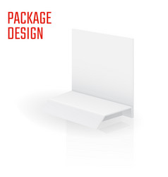 Clear craft box 1 vector