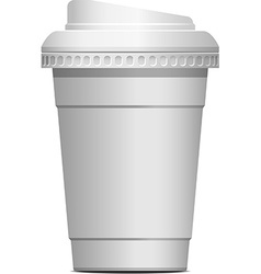 Coffee to go vector image