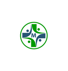 Medical group initial m vector