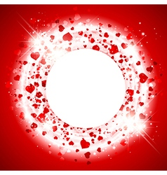 Stvalentine day heart background vector