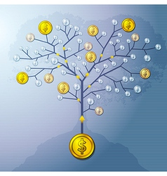 Investment tree vector